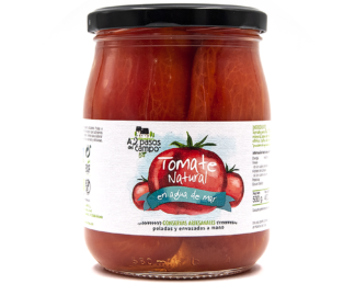ORGANIC NATURAL TOMATO IN SEA WATER 530G