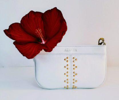 AZALEA artisan leather handbag KATE