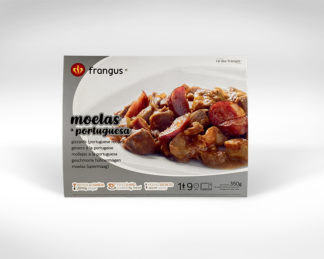 frangus, rei dos frangos, frangus foodmoelas, gezziers, gizzards, portuguese food, mediterranean food, deep frozen ready meal