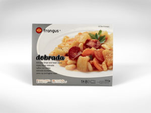 frangus, rei dos frangos, frangus food, dobrada, tripes portuguese style, portuguese food, mediterranean food, deep frozen ready meal