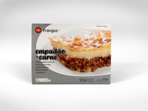 frangus, rei dos frangos, frangus food, empadão, sheperds pie, portuguese food, mediterranean food, deep frozen ready meal