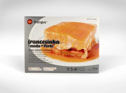 frangus, rei dos frangos, frangus food, francesinha, portuguese sandwich, croque monsieur, croque madame, portuguese food, mediterranean food, deep frozen ready meal