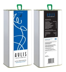 Aulis Premium Extra Virgin Olive Oil (5lt can 169 fl.oz))