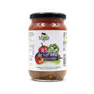 ORGANIC ROASTED VEGTEABLES WITHOUT ADDED SALT 350G