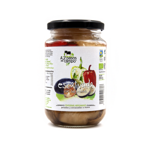 ORGANIC ROASTED VEGETABLES WITH ONION WITHOUT ADDED SALT 350G