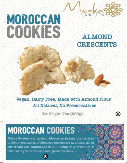 Cornes de Gazelle - Almond Crescents - Moroccan Cookies