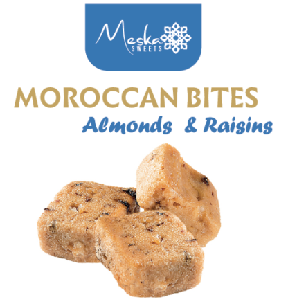 Moroccan Biscuits Almonds and Raisins Savory