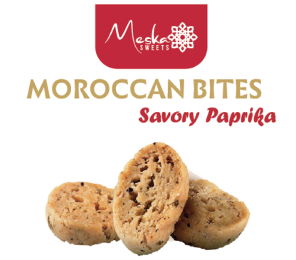 Moroccan Biscuits Paprika Savory