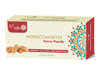 Moroccan Biscuits Paprika Savory by Meska Sweets