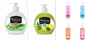 Soaps, shower gels, shampoos and laundry products